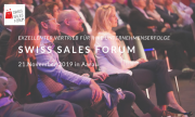 SWISS SALES FORUM 21.11.2019 in Aarau